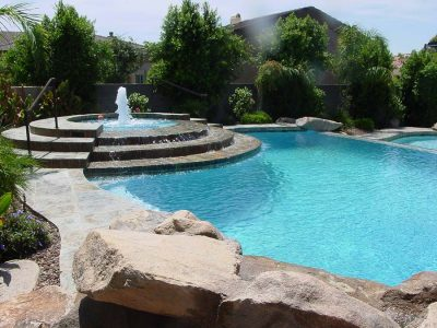 Negative Edge Swimming Pool Contractor