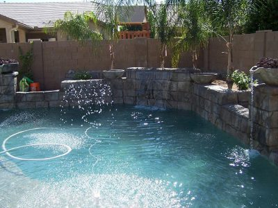 Swimming Pool Contractor Water Features